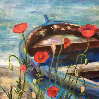 Tossed in the Wind 20x24 $280 http://www.kathyericksenartist.com/?product=tossed-in-the-wind